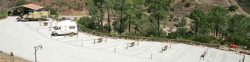 Parque Rural para auto caravanas Vale da Carrasqueira